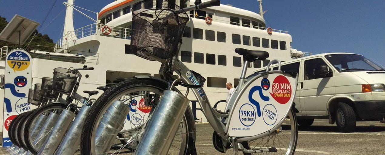 Ubli trajekt i bicikli